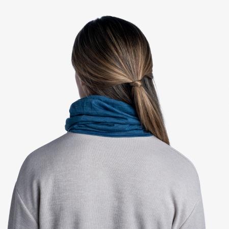 Light Weight merino wool SOLID dusty blue [3]