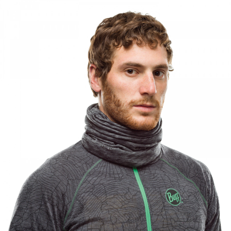LIGHTWEIGHT MERINO WOOL GRAPHITE MULTI STRIPES1