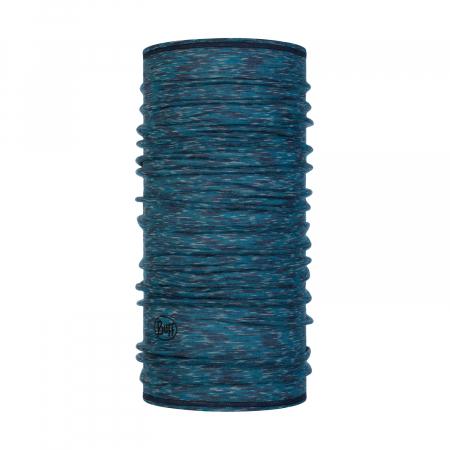 LIGHTWEIGHT MERINO WOOL LAKE BLUE MULTI STRIPES0