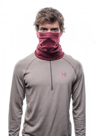 LIGHTWEIGHT MERINO WOOL SOLID WINE2