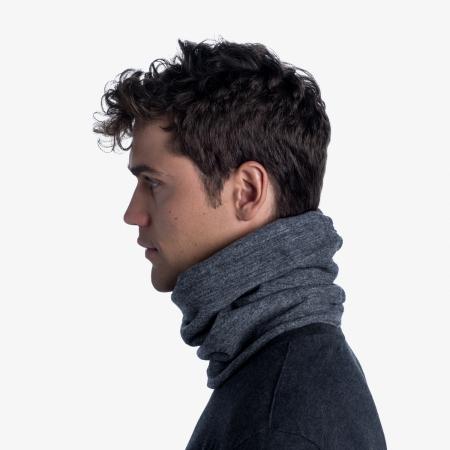 Merino fleece neckwarmer Solid grey [3]