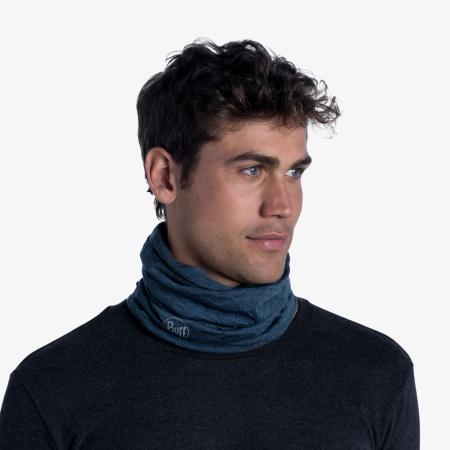 Mid Weight merino wool DUSTY blue melange [1]