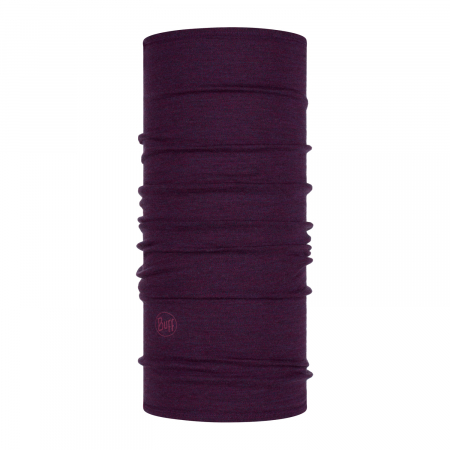 Mid Weight merino wool purplish melange1