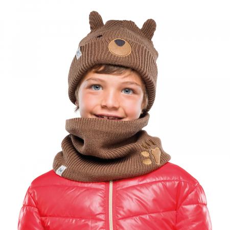 NECKWARMER CHILD KNITTED POLAR FUNN BEAR1