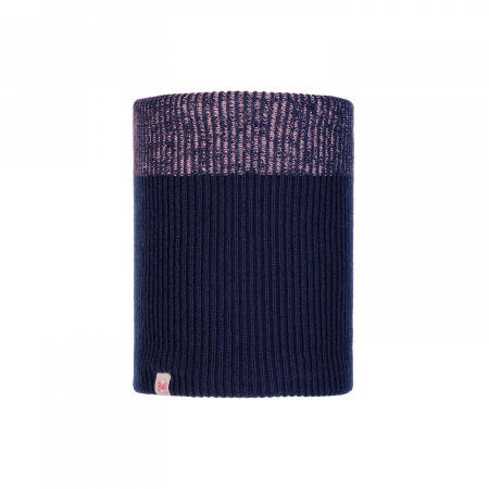 NECKWARMER JR KNITTED POLAR AUDNY NIGHT BLUE0