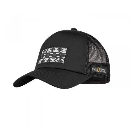 Sapca TRUCKER National Geographic THABO BLACK0