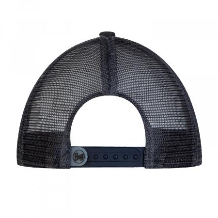 TRUCKER FLAT CAP ZEST GREY3