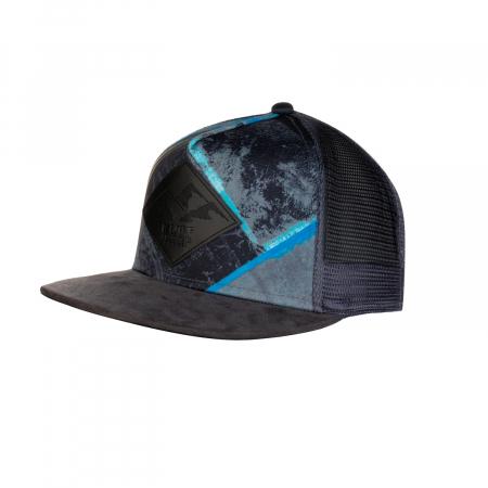 TRUCKER FLAT CAP ZEST GREY0