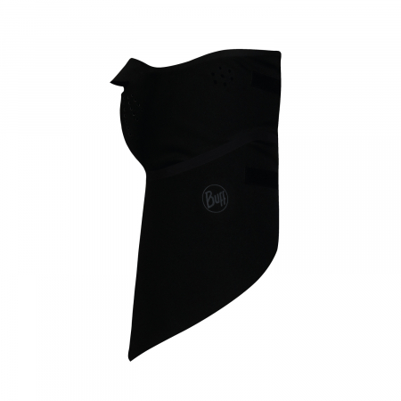 Windproof bandana SOLID BLACK1