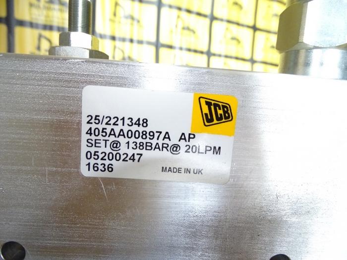 Distribuitor Hidraulic JCB [4]