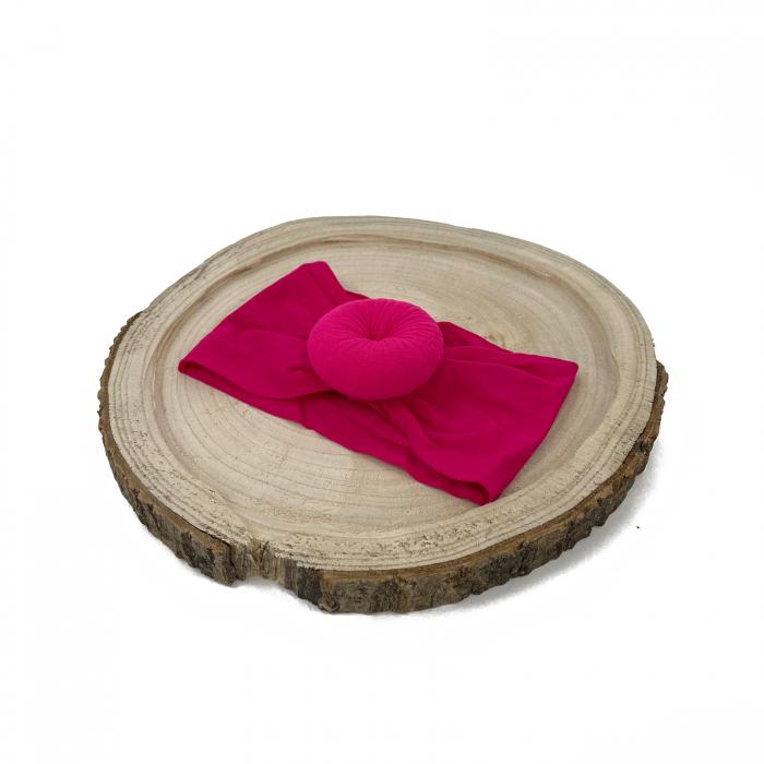 Bentita turban Roz bonbon [0]
