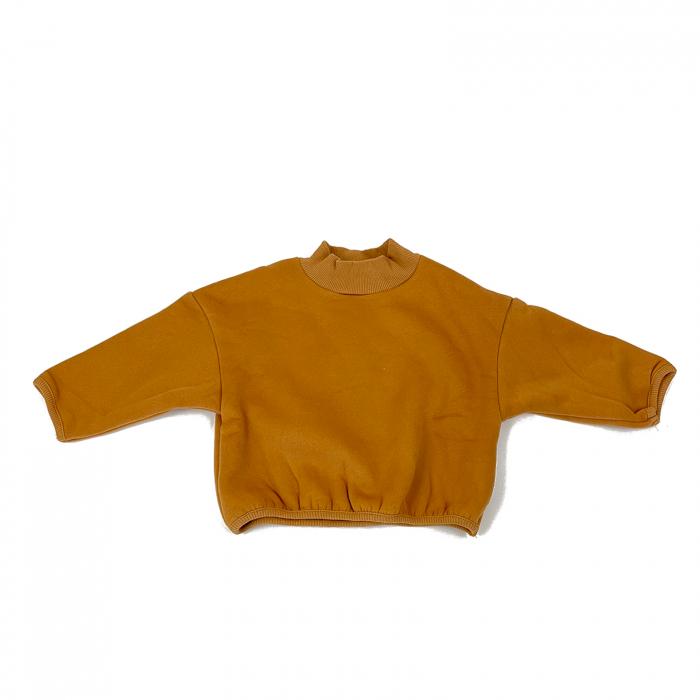 Bluza Bumbac Copii Oversized Galben 0