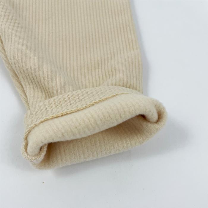 Pantaloni Caldurosi din Bumbac Albi [1]