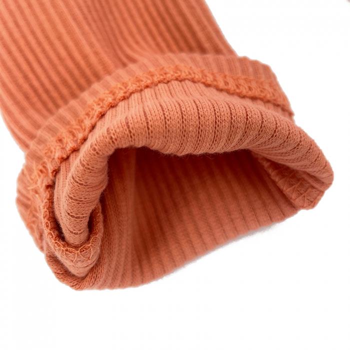 Pantaloni Bumbac Bebelusi Portocaliu 1