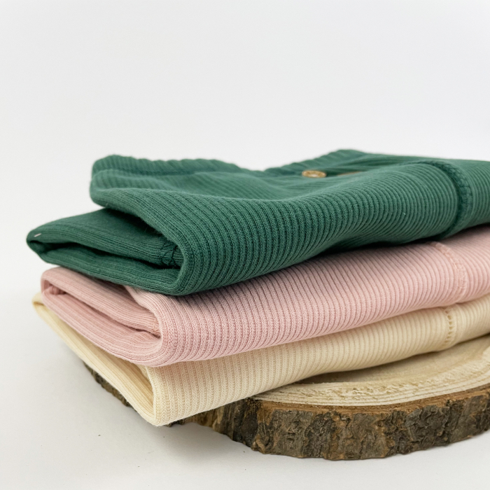 Pantaloni Caldurosi din Bumbac Verzi 2