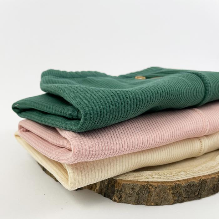 Pantaloni Caldurosi din Bumbac Roz 2