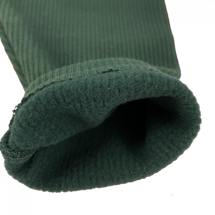 Pantaloni Caldurosi din Bumbac Verzi 1