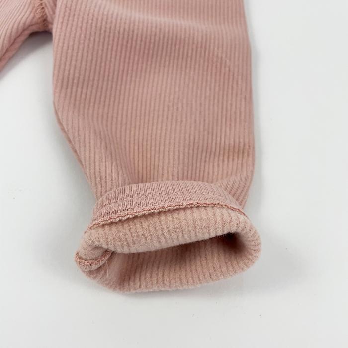 Pantaloni Caldurosi din Bumbac Roz [0]
