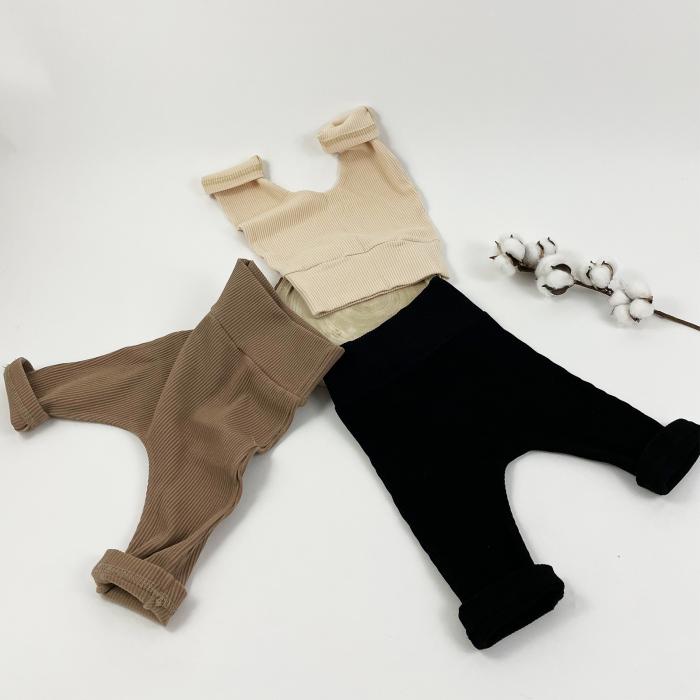 Pantaloni Minimalisti Bebelusi Crem 4