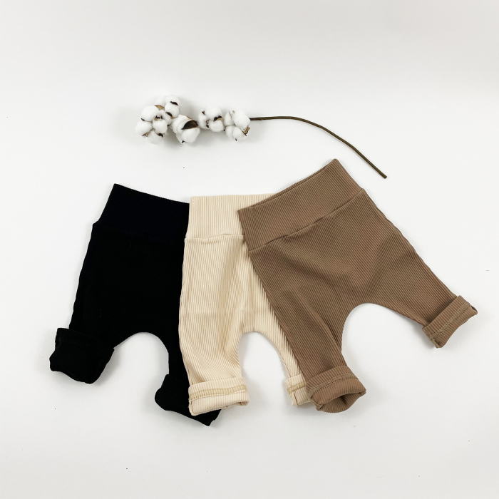 Pantaloni Minimalisti Bebelusi Crem 1