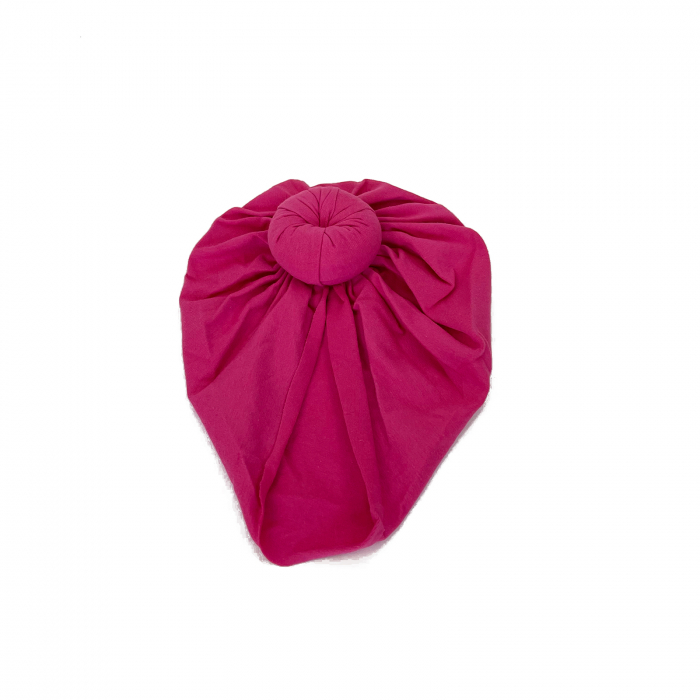 Turban Roz bonbon 0