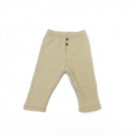 Pantaloni Caldurosi din Bumbac Albi [0]