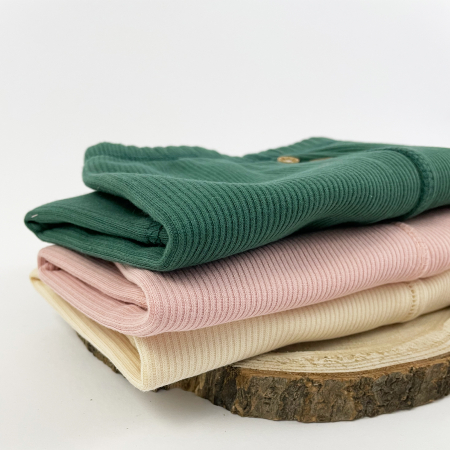 Pantaloni Caldurosi din Bumbac Roz [2]