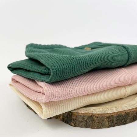 Pantaloni Caldurosi din Bumbac Albi [2]