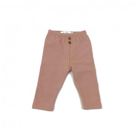 Pantaloni Caldurosi din Bumbac Roz [1]