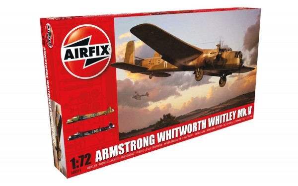Airfix Armstrong Whitworth Whitley Mkv 0