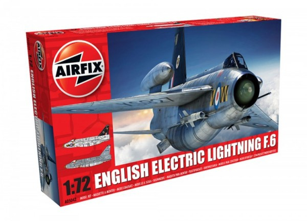Airfix Electric Lightning F6 0