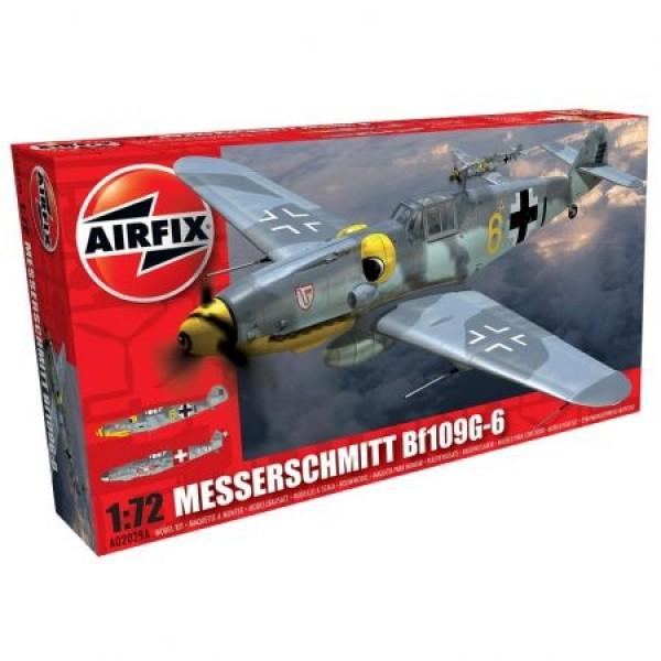 Avion Messerschmitt Bf109G-6 Scara 1:72 0