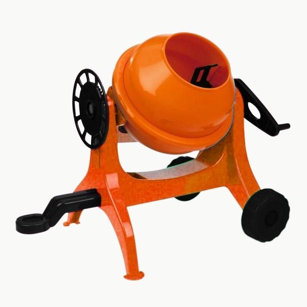 Betoniera Lena 05010 mica din plastic portocalie 0