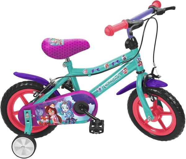 Bicicleta fete Saica 8821 Enchantimals roata 12 inch 0