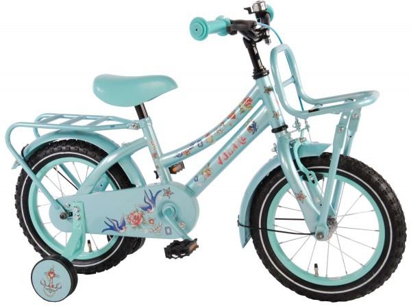 Bicicleta pentru fete 14 inch cu roti ajutatoare Volare Tattoo 0