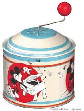 Flasneta muzicala pentru copii Lena Mickey Mouse metalica 0