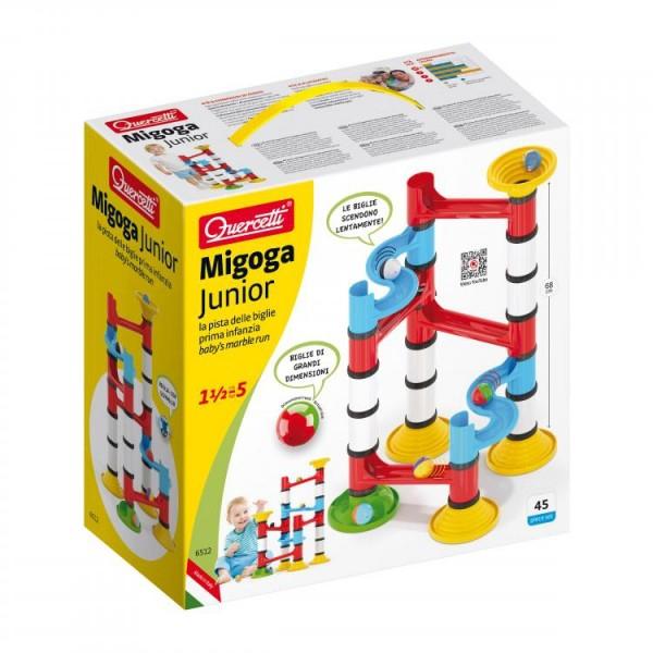 Joc creativ Pista cu bile Migoga Junior Set Premium 45 piese 0