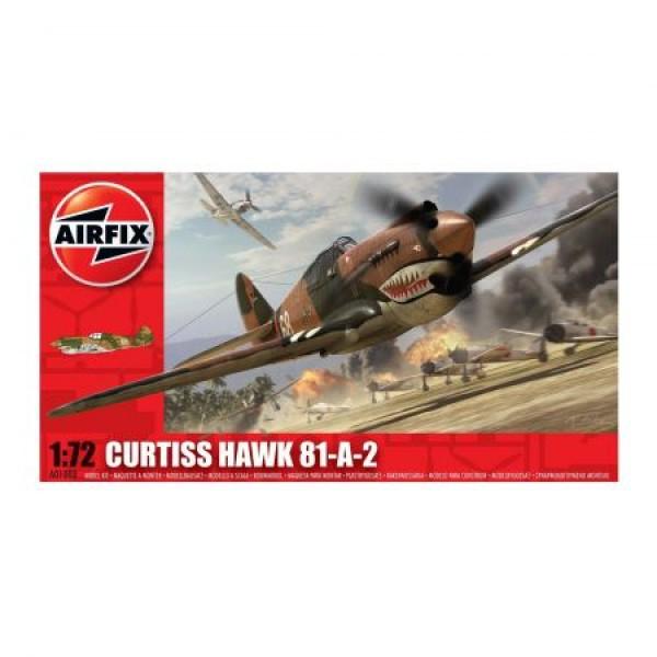 Kit aeromodele Airfix 01003 Avion Curtiss Hawk 81-A-2 Scara 1:72 0