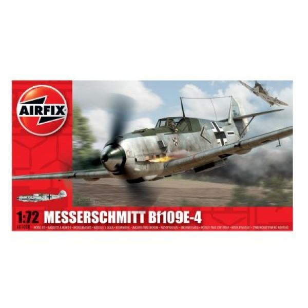 Kit aeromodele Airfix 01008 Avion Messerschmitt Bf109E-4 Scara 1:72  0
