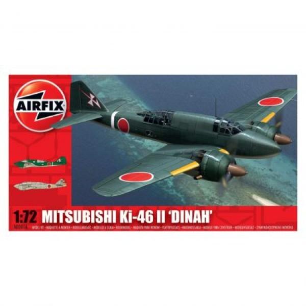 Kit aeromodele Airfix 02016 Avion Mitsubishi KI-46-II DINAH Scara 1:72  0