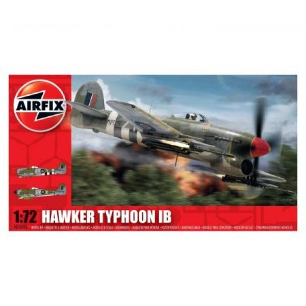 Kit aeromodele Airfix 02041 Avion Hawker Typhoon Ib Scara 1:72  0