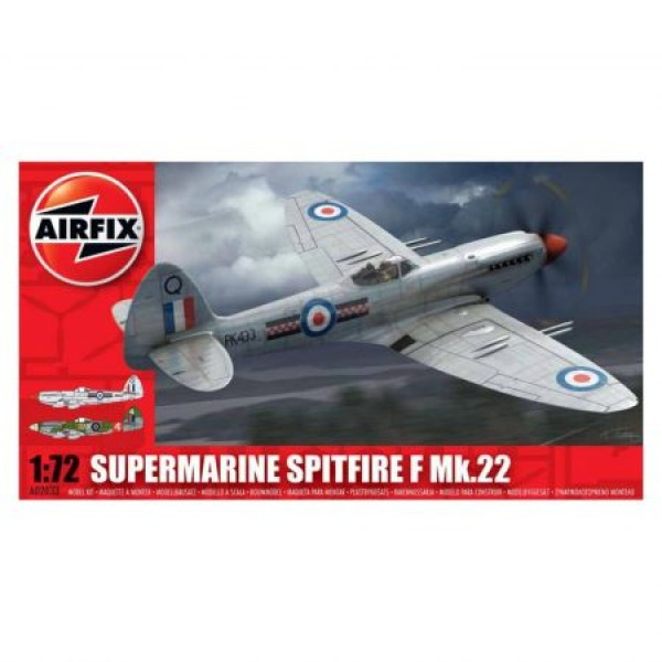 Kit aeromodele Arifix 02033 Avion Supermarine Spitfire F Mk.22 Scara 1:72  0
