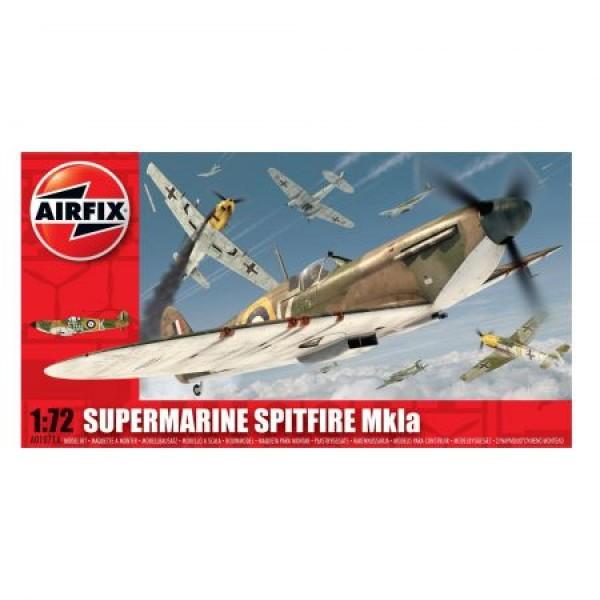Kit aeromodele Arifix 1071A Avion Supermarine Spitfire MkIa Scara 1:72  0