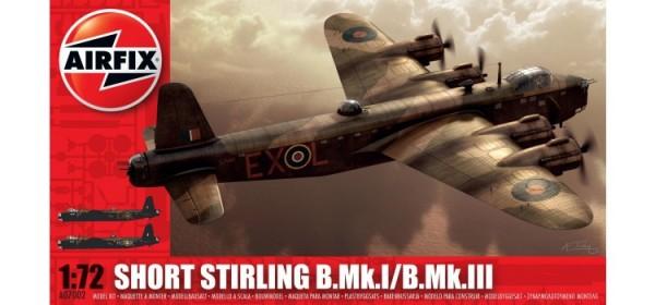 Kit constructie Airfix avion Short Stirling B.Mk.I/B.Mk.III 0