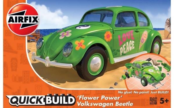 Kit constructie Airfix Quick Build Masina Flower Power 0