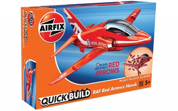 Kit constructie Airfix QUICK BUILD RAF Red Arrows Hawk 0