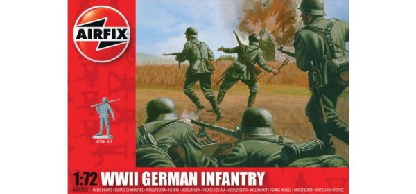 Kit constructie Airfix soldati infanterie germana 0