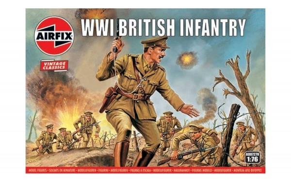 Kit constructie Airfix soldati Vintage Classics - WWI British Infantry 1:76 0