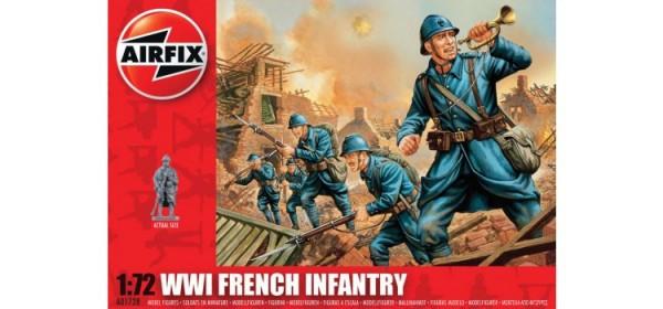Kit constructie Airfix soldati WWII Infanterie Franceza 0