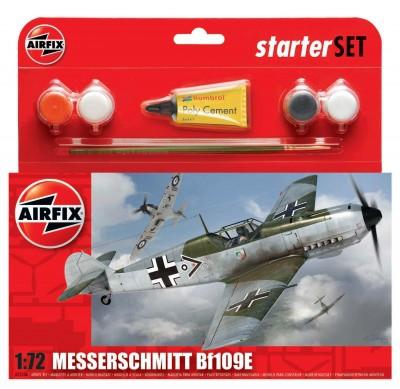Kit constructie avion Messerschmitt Bf109E  0
